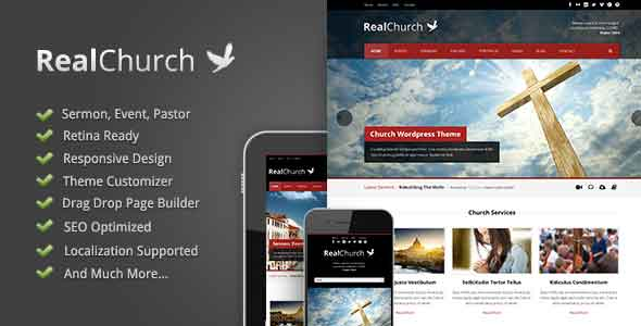 real church responsive theme