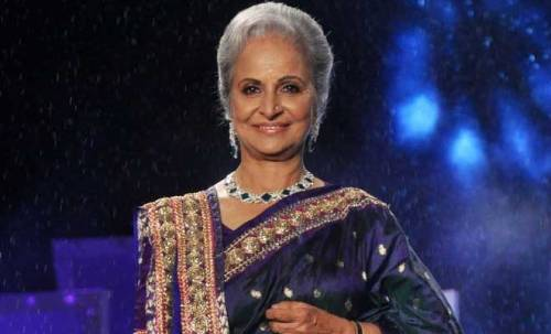 Top 10 Mothers of Bollywood on Mother's Day - Waheeda Rehman