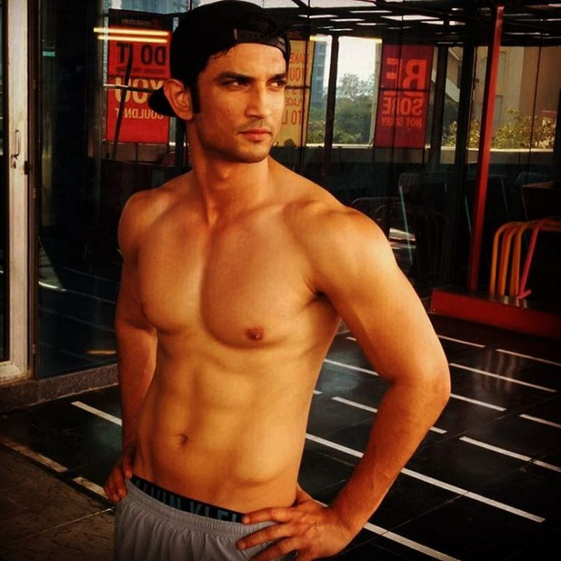 10 Scorching Hot Pics of Sushant Singh Rajput That Will Give You All The Right Feels!- Sushant Gym Again