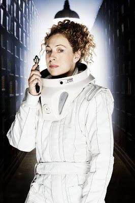 ©BBC Picture ALEX KINGSTON as Prof. River Song. Episode 8. Silence in the Library.