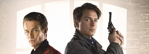 James Marsters and John Barrowman - Torchwood (c) BBC