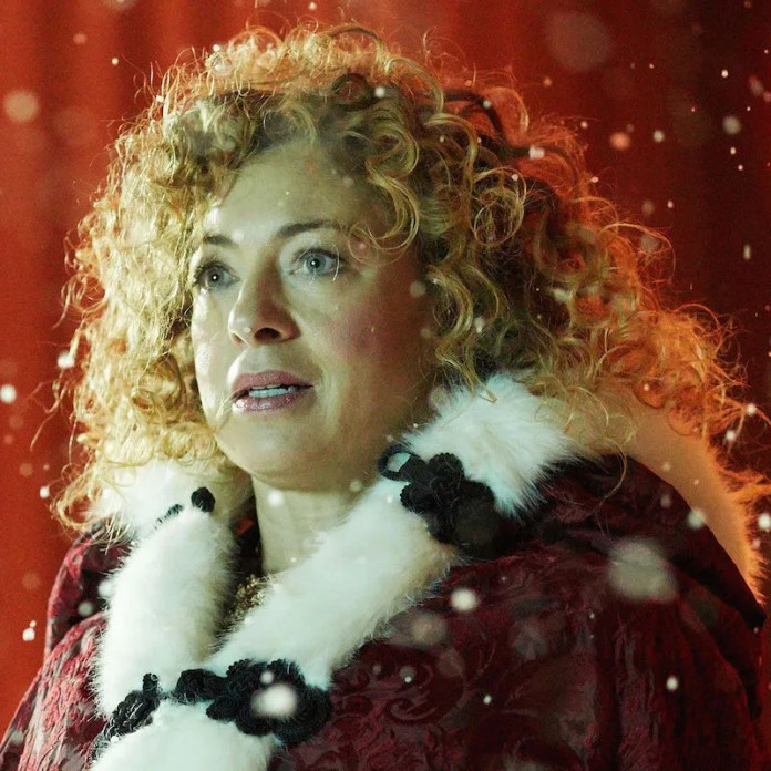 Alex Kingston as River Song - Doctor Who: The Husbands of Rover Song (c) BBC
