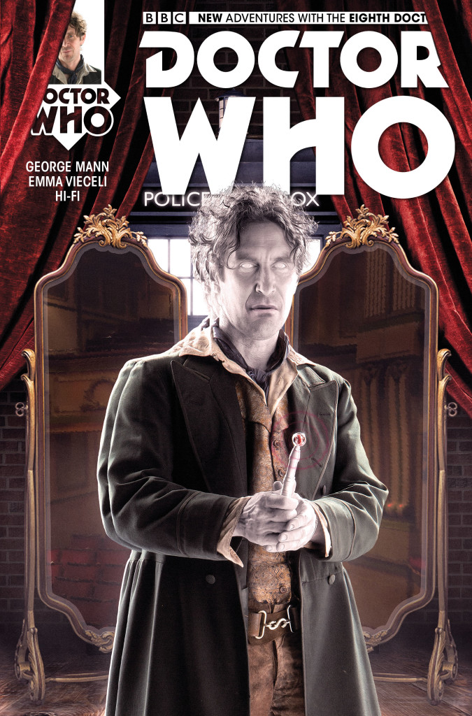 Titan Comics – Eighth Doctor #3 Cover B by Will Brooks