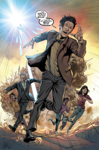 Titan Comics - Doctor Who: The Four Doctors - Preview