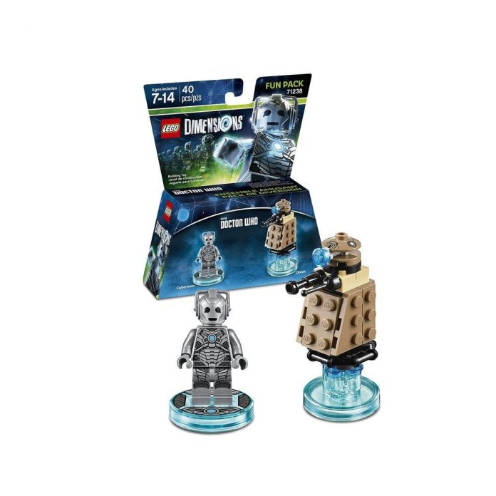 LEGO Dimensions, Doctor Who, Cyberman and Dalek Fun Pack