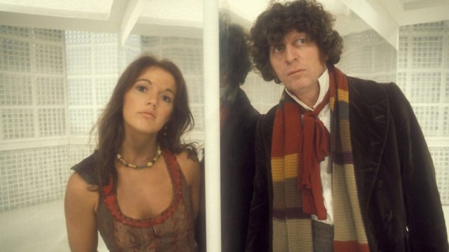 Doctor Who - Leela (Louise Jameson) & The Doctor (Tom Baker)