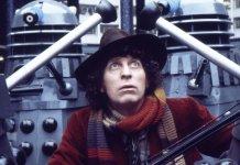 Tom Baker as the Fourth Doctor