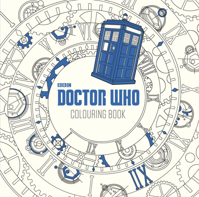 Doctor Who: The Colouring Book Activity Book Cover