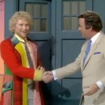 Colin Baker and Terry Wogan - Wogan 1986
