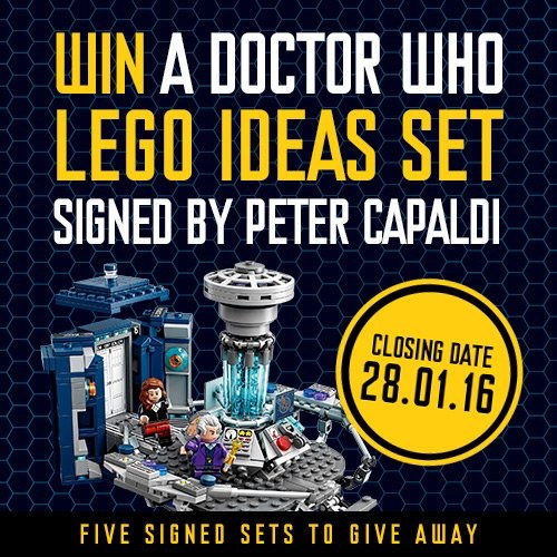Doctor Who Lego Competition - BBC Shop