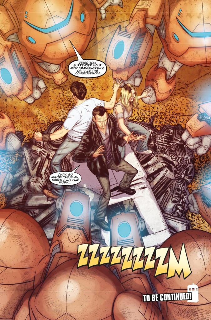DOCTOR WHO THE NINTH DOCTOR VOL. 1: WEAPONS OF PAST DESTRUCTION - Preview 3
