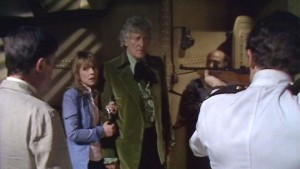 Jo Grant (Katy Manning) and The Doctor (Jon Pertwee) - Doctor Who - Carnival of Monsters