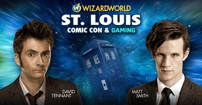 David Tennant & Matt Smith - Wizard World St Louis