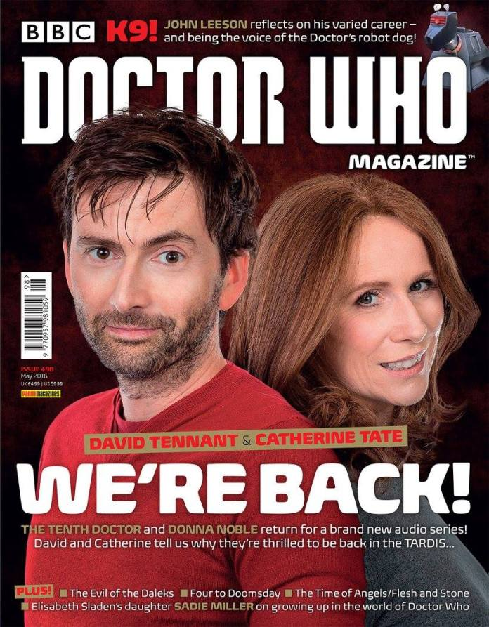 Doctor Who Magazine Issue #498
