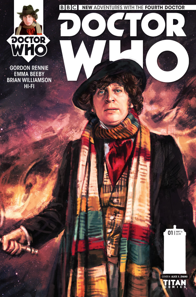 DOCTOR WHO: THE FOURTH DOCTOR #1 - Cover A by Alice Zhang (c) Titan Comics