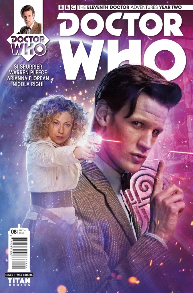 DOCTOR WHO: ELEVENTH DOCTOR #2.8 - Cover B