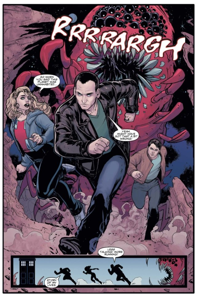Doctor Who: Ninth Doctor #1 - Preview 1