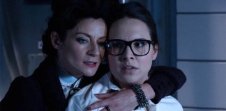 Missy (Michelle Gomez) and Osgood (Ingrid Oliver) - Doctor Who - Death in Heaven (c) BBC