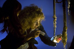 River Song (Alex Kingston) - Doctor Who - The Impossible Astronaut (c) BBC
