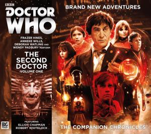 Cover Art for the Companion Chronicles Series 10 by Simon Holub