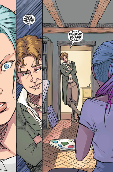 Titan Comics - Eighth Doctor Vol 1: A Matter of Life and Death - Preview 2