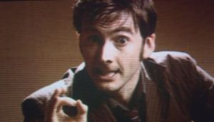 The Tenth Doctor David Tennant) - Doctor Who - Blink c) BBC