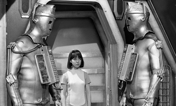 Zoe and the Cybermen - Doctor Who - The Wheel in Space (c) BBC