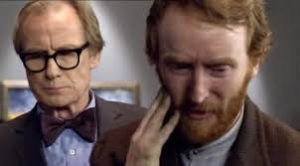 Bill Nighy and Tony Curran (Vincent Van Gogh) - Doctor Who - Vincent and the Doctor (c) BBC
