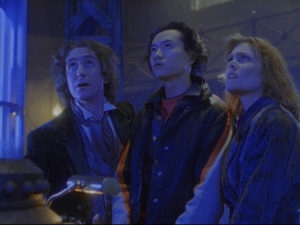 The Doctor (Paul McGann), Chang Lee (Yee Jee Tso) and Grace Holloway (Daphne Ashbrook) - Doctor Who TV Film