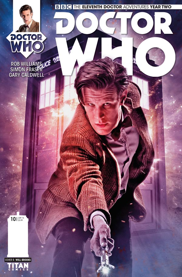 ELEVENTH DOCTOR #2.10 - Cover B