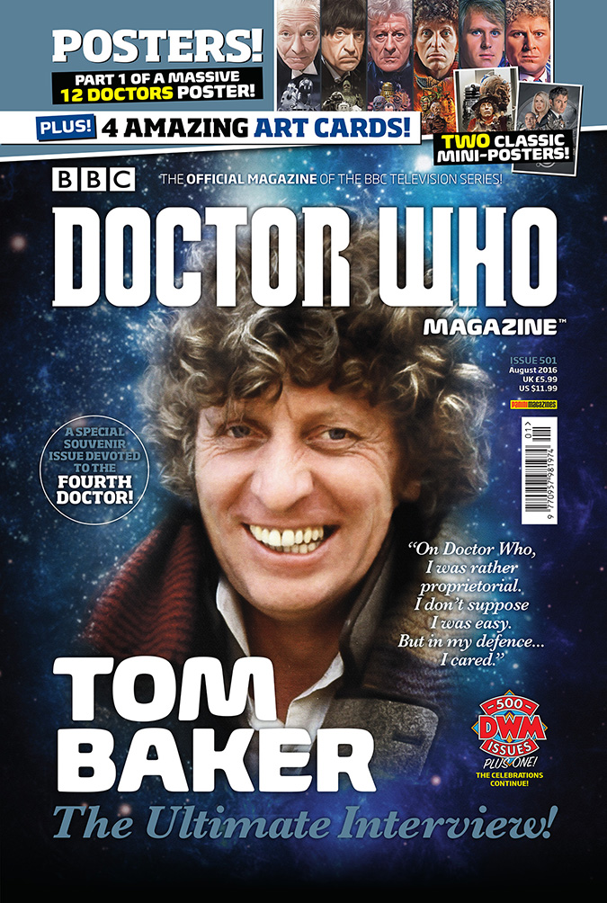 Doctor Who Magazine 501 - Tom Baker