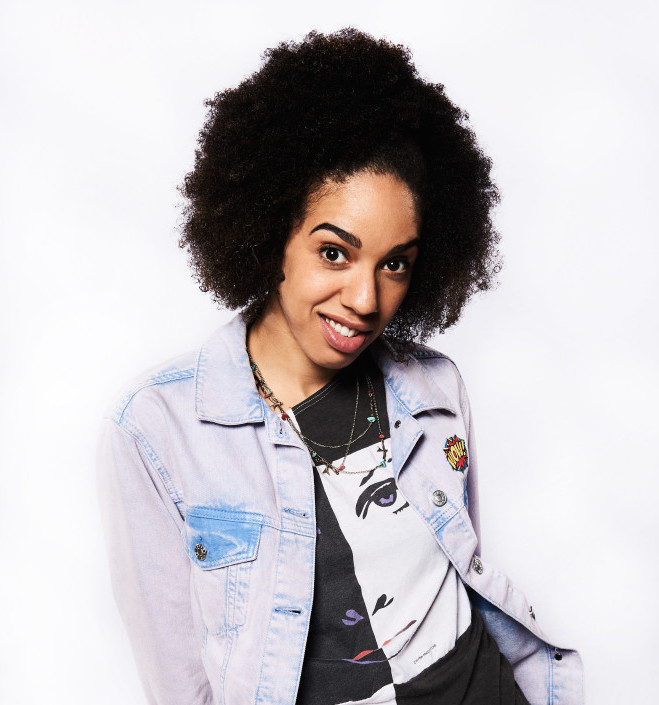 DOCTOR WHO - MEET PEARL MACKIE - THE DOCTOR'S NEW COMPANION Pearl Mackie - (C) BBC - Photographer: Ray Burmiston