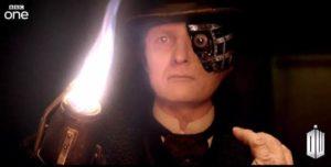 Doctor Who - Deep Breath - Peter Ferdinando as Half Face Man (c) BBC