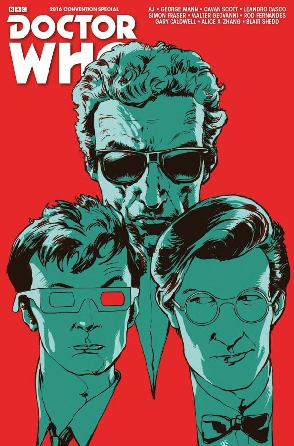 Titan Comics - Doctor Who Convention Special: The Long Con Cover B: Simon Fraser