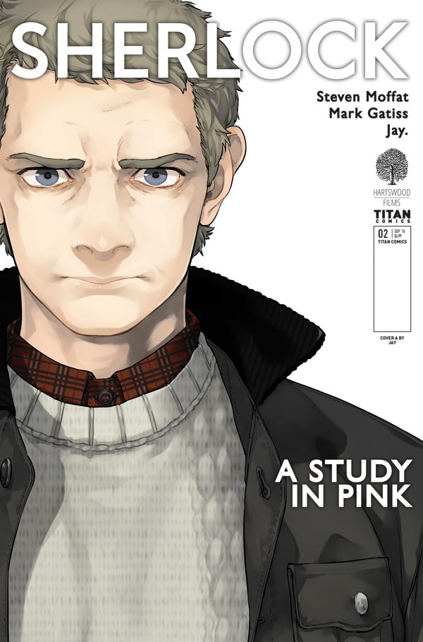 TITAN COMICS SHERLOCK #2 COVER A