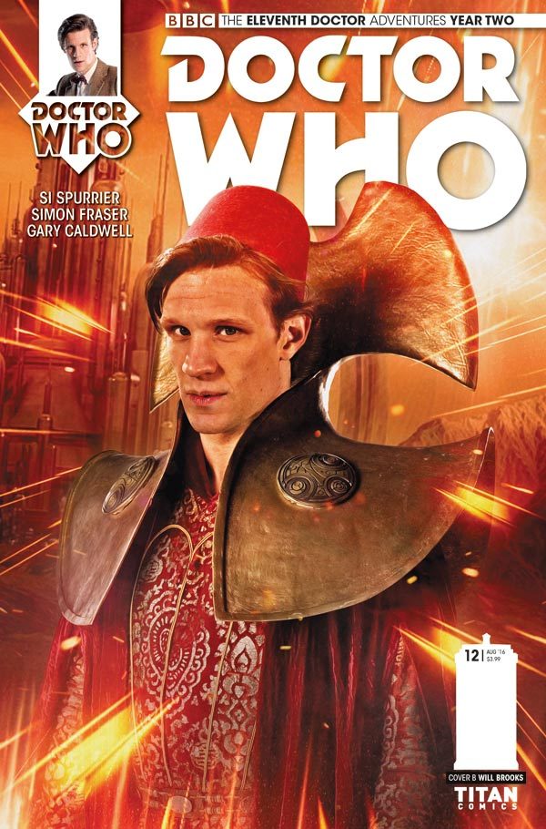 TITAN COMICS - ELEVENTH DOCTOR 2.12 - COVER B BY PHOTO