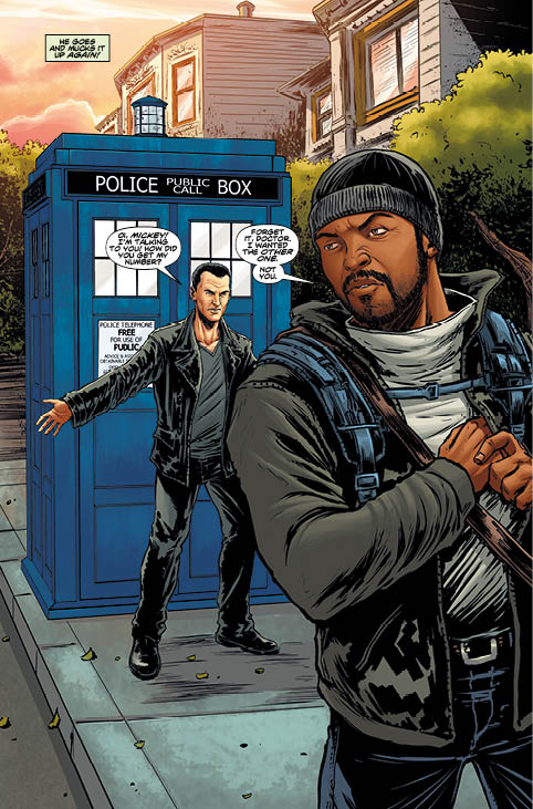 TITAN COMICS NINTH DOCTOR #4 Preview 2