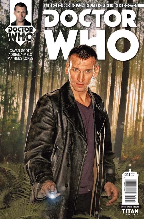 TITAN COMICS NINTH DOCTOR #4 Cover B by Will Brooks Photo