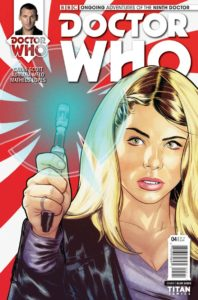 TITAN COMICS NINTH DOCTOR #4 Cover C by Mike Collins (Linked Cover)