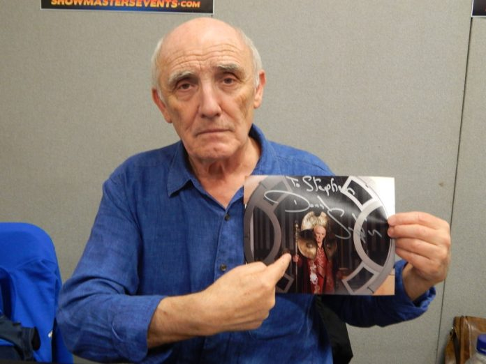 Donald Sumpter - London Film and Comic Con July 2016 Photo by Daniel Rice