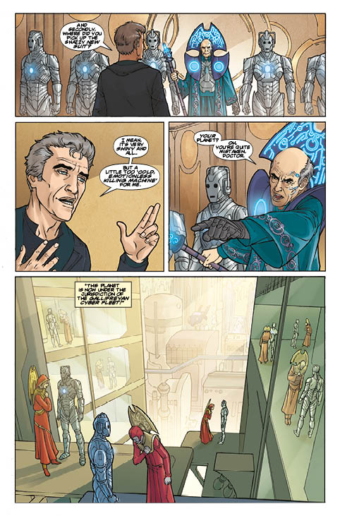 TITAN COMICS - DOCTOR WHO: SUPREMACY OF THE CYBERMEN #2 PREVIEW 2