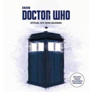 Doctor Who Official 2017 Desk Easel Calendar