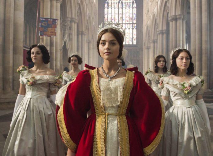 Jenna Coleman as Queen Victoria 'Victoria' TV show - 2016 - Photo by ITV/REX/Shutterstock