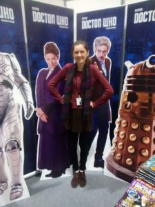 Emily Cook and the Stars of Doctor Who!