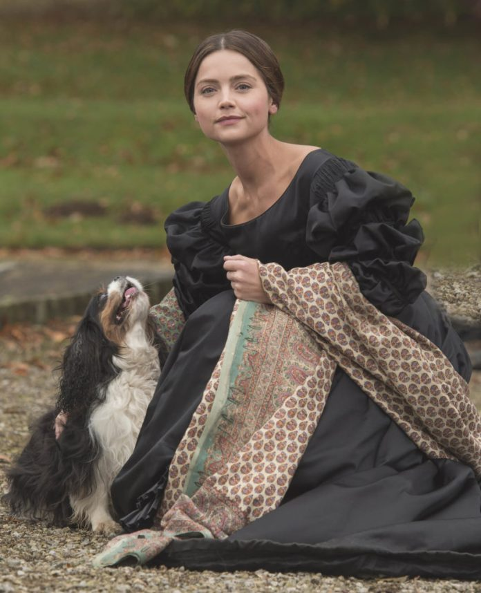 Jenna Coleman as Victoria 'Victoria' TV series, episode one - 28 Aug 2016 Photo by ITV/REX/Shutterstock