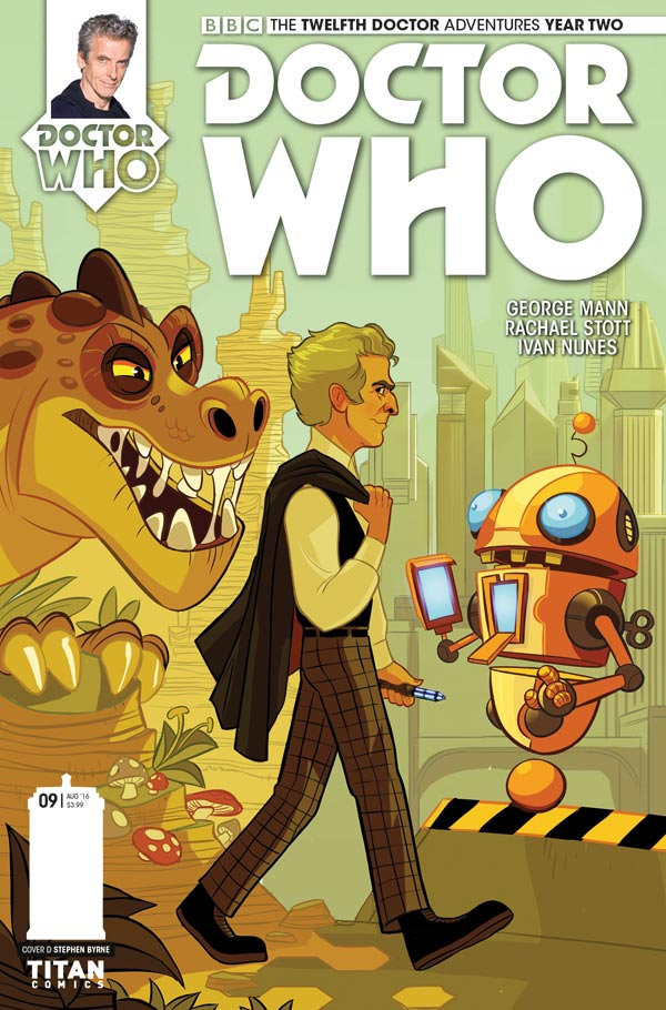 Titan Comics - Doctor Who: Twelfth Doctor #2.9 Cover D: Stephen Byrne