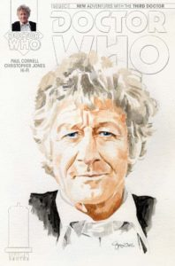 DOCTOR WHO: THIRD DOCTOR #1 COVER C BY Simon Myers