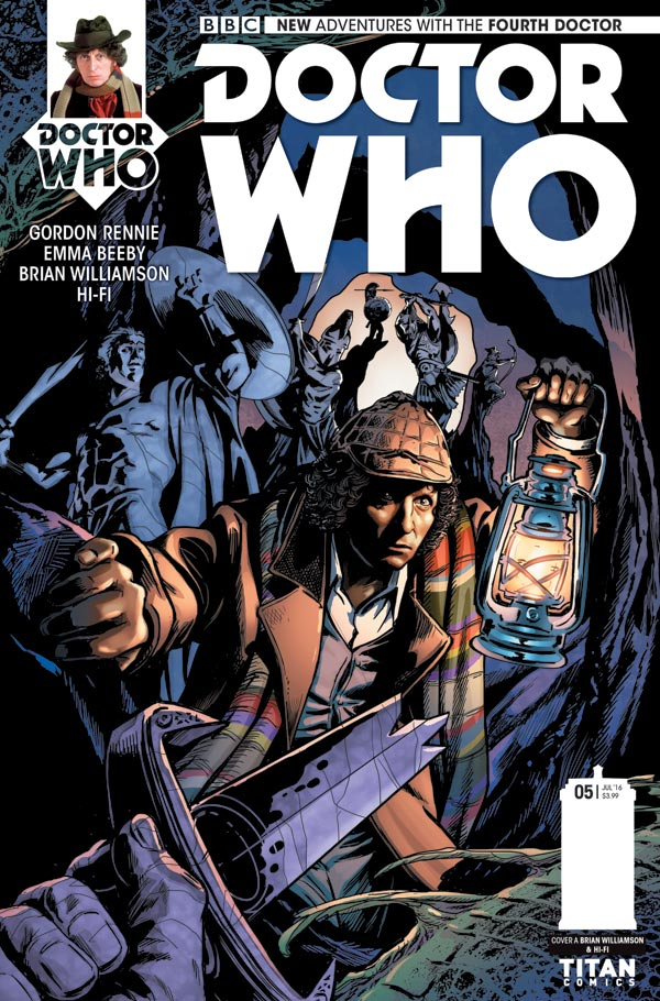 Titan Comics Doctor Who: Fourth Doctor #5 Cover A: Brian Williamson & Hi-Fi