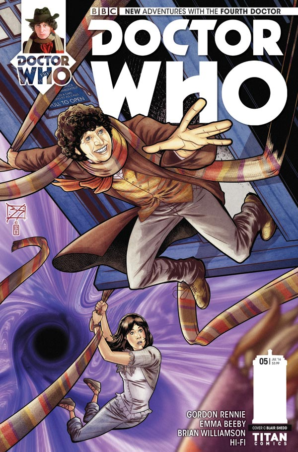 Titan Comics Doctor Who: Fourth Doctor #5 Cover C: Blair Shedd