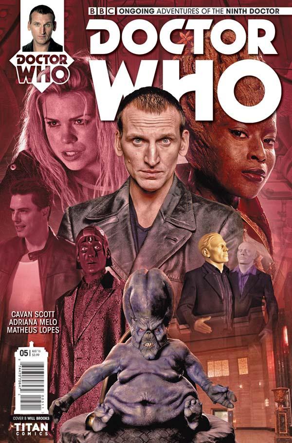 TITAN COMICS NINTH DOCTOR #5 PHOTO COVER